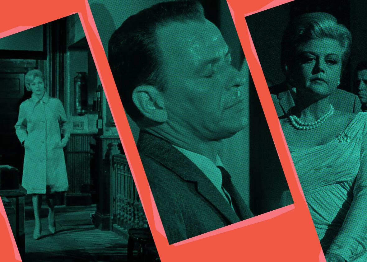 Photo illustration by Slate. Stills from MGM/UA Home Video and Warner Home Video.