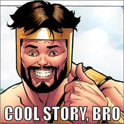 """Cool Story Bro"" screen capture."