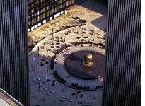 View of the World Trade Center Plaza