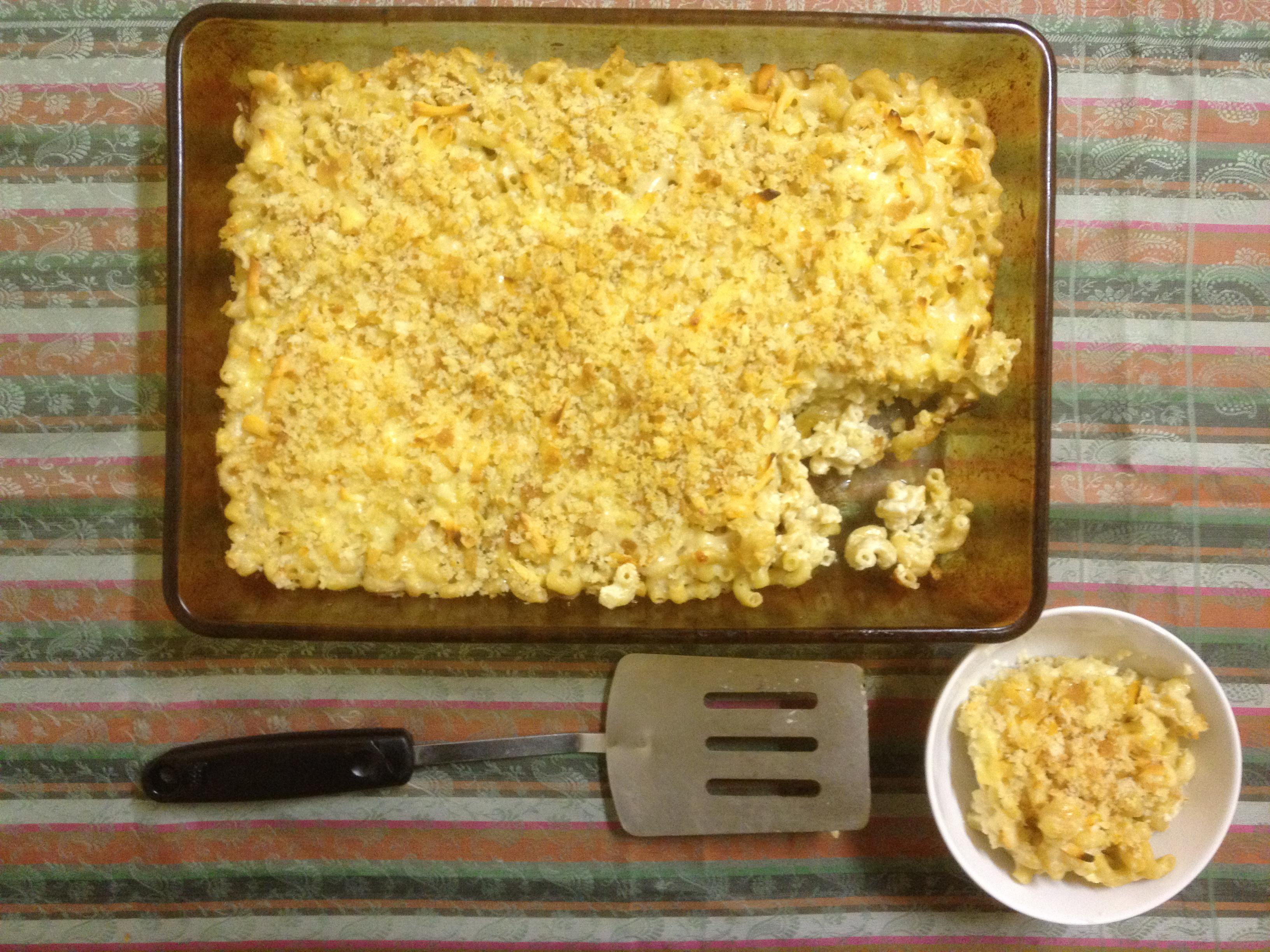 Macaroni and cheese recipe: extra cheesy with smoked Gouda