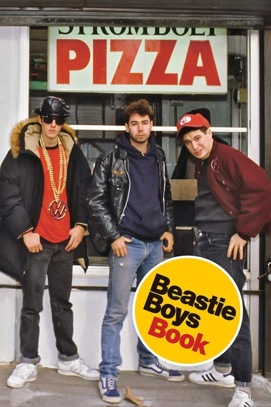 Beastie Boys Book cover.