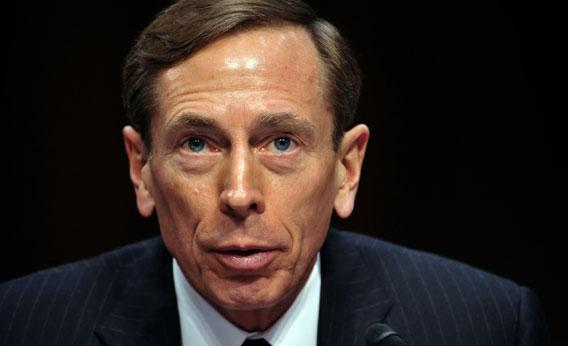 CIA Director David Petraeus, testifies before the US Senate Intelligence Committee during a full committee hearing on 'World Wide Threats.' on January 31, 2012 on Capitol Hill in Washington, DC.