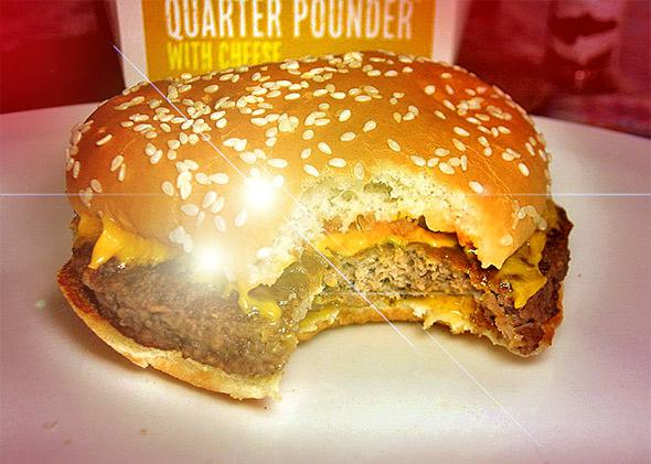 Quarter Pounder with Cheese.