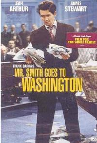 "DVD of ""Mr. Smith Goes to Washington."""