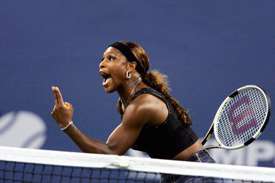 Serena Williams USA   US Open 2004