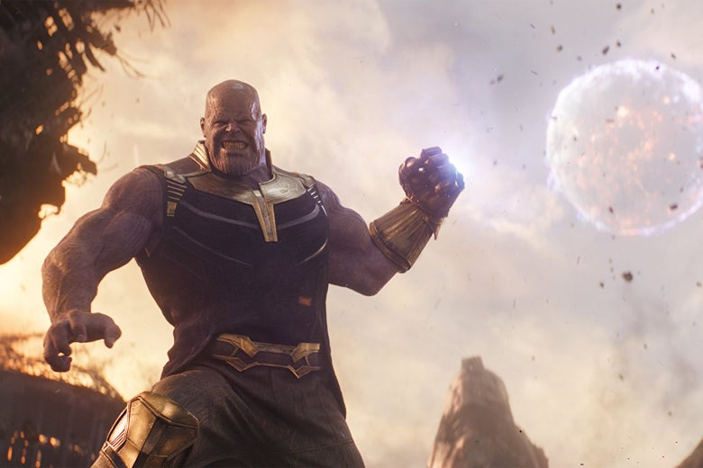 Thanos, up to his old tricks.