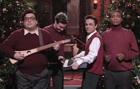 These four men somehow created the newest entry in the Christmas song canon.