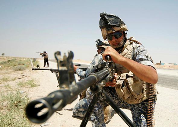 Iraqi Military.