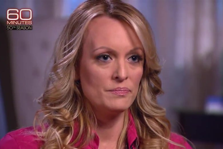 Stormy Daniels appears on 60 Minutes.