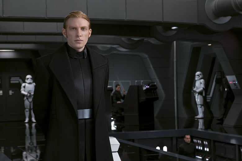 Domhnall Gleeson in Star Wars: The Last Jedi