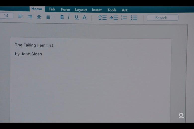 """The Failing Feminist"""
