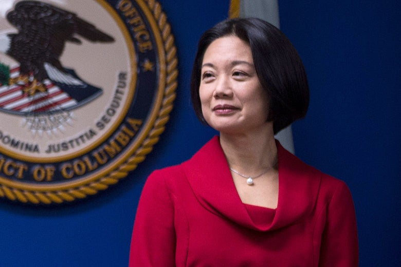 U.S. Attorney for the District of Columbia Jessie Liu
