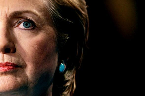 U.S. Senator and Democratic Presidential candidate Hillary Rodham Clinton.