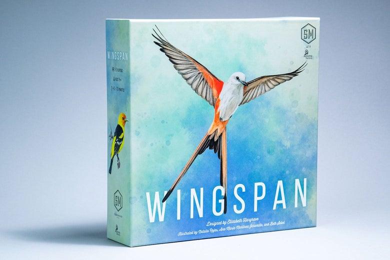 Wingspan game box.