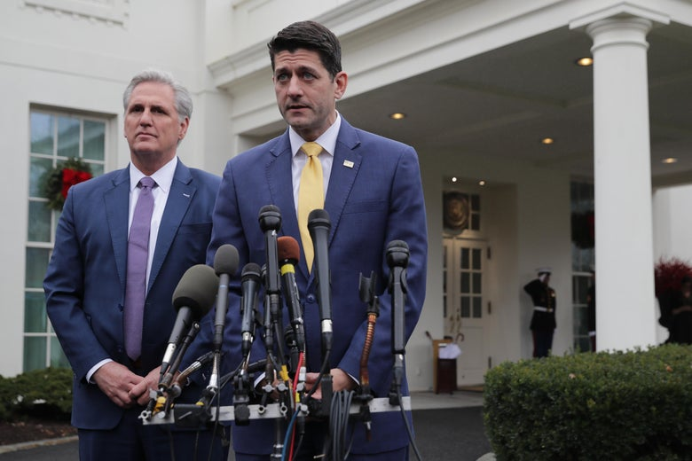 Reps. Kevin McCarthy and Paul Ryan.