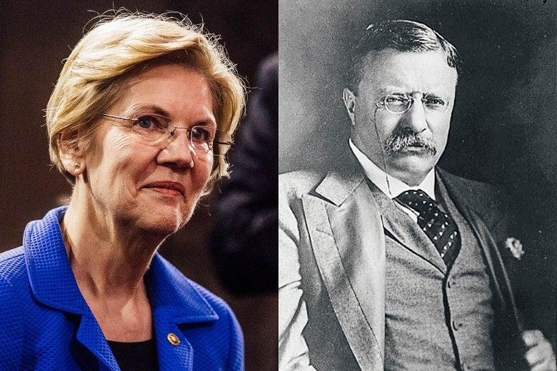 Elizabeth Warren; Teddy Roosevelt