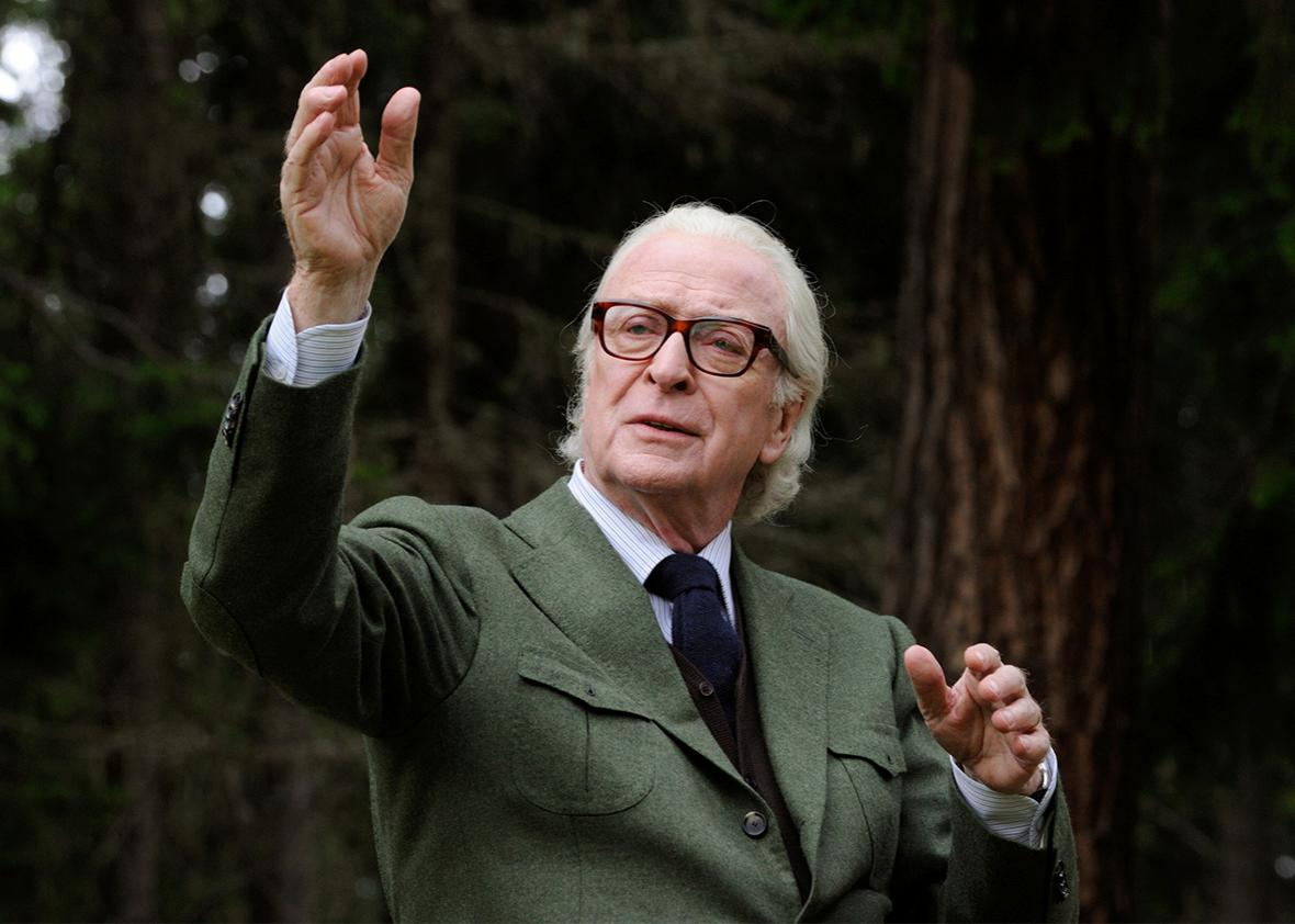 Michael Caine in Youth.