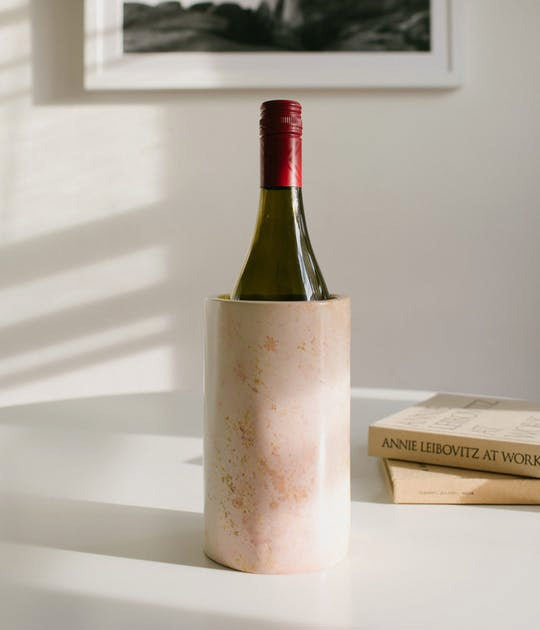 Rose & Fitzgerald Soapstone Bottle Cooler.