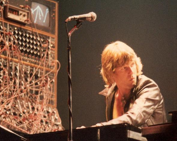 Keith Emerson and his Moog.
