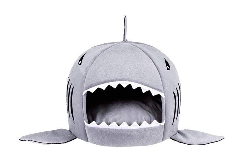 Shark pet bed.