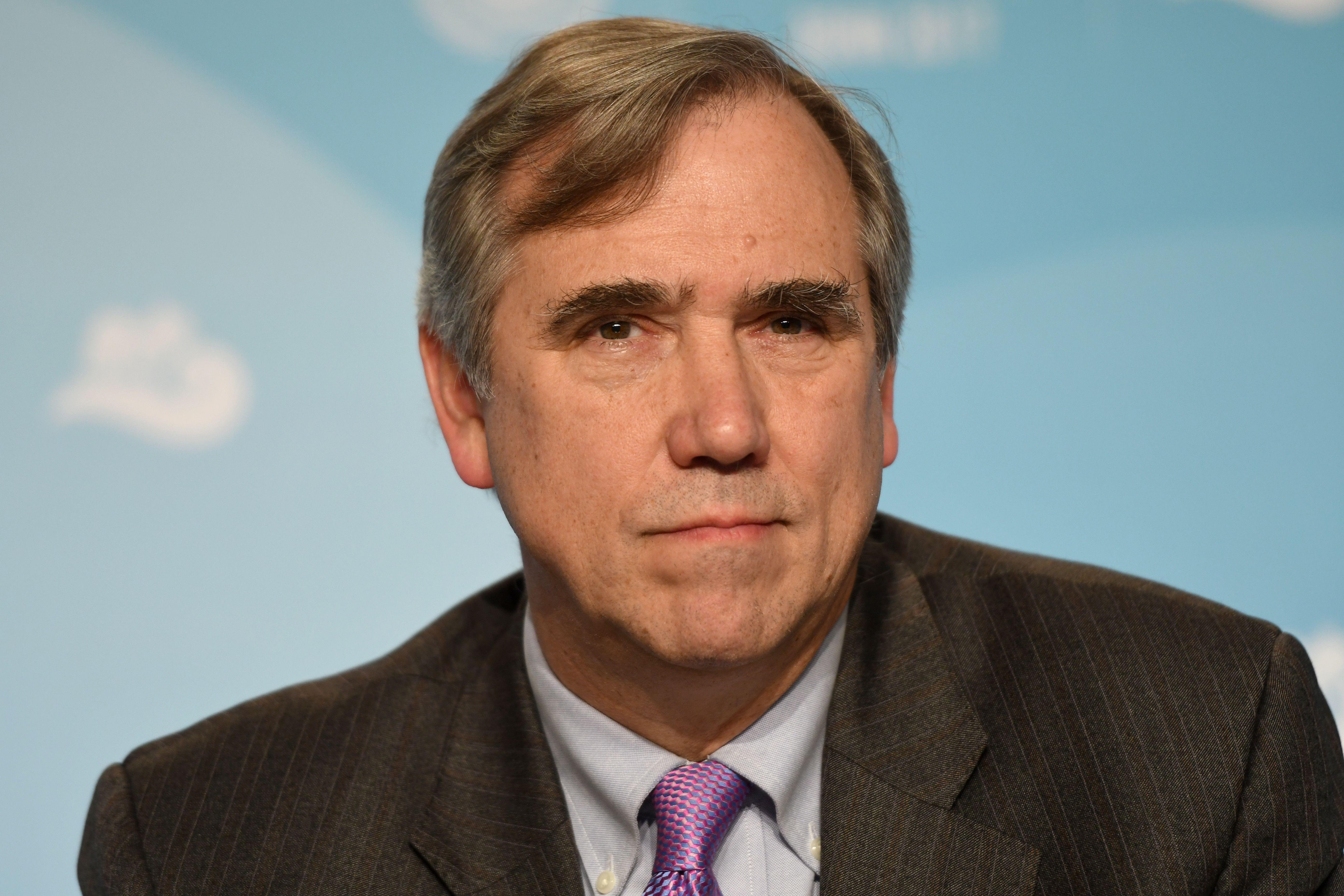 US Senator Jeff Merkley