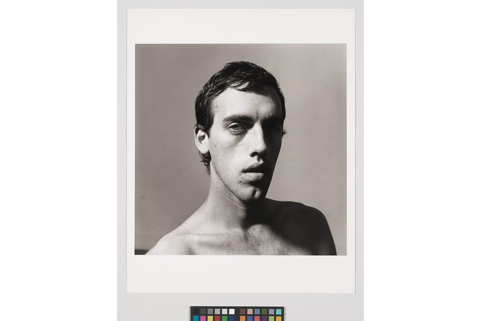Peter Hujar's photographic portrait of David Wojnarowicz.