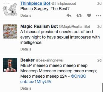 Slate's Seven Favorite Twitter Bots of 2015