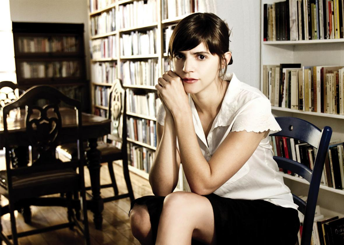 Author Valeria Luiselli.