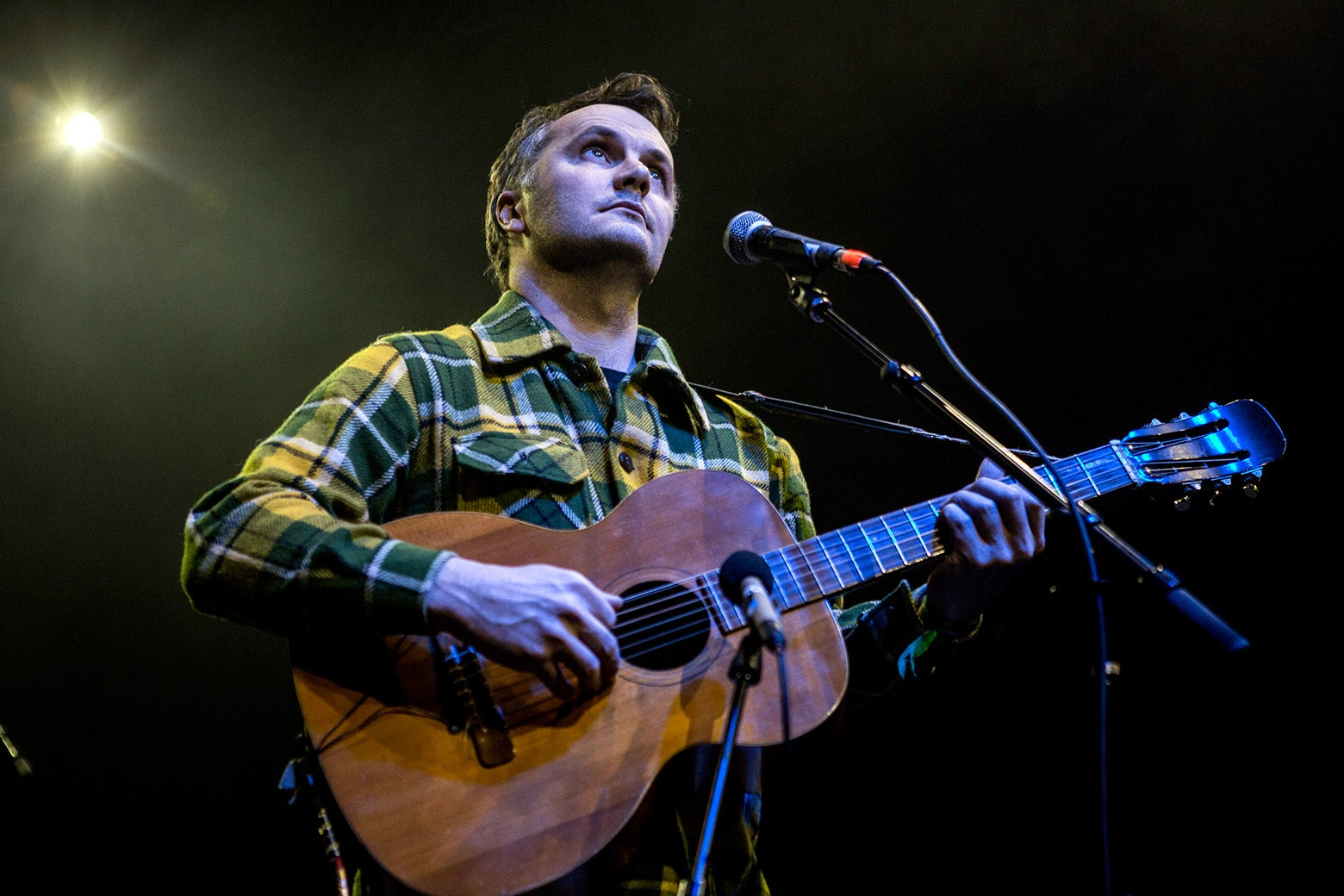 Phil Elverum performs during the When We Were Young Festival 2017 at the Observatory on April 8 in Santa Ana, California.