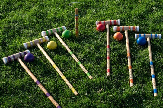 Trademark Global Croquet Set.