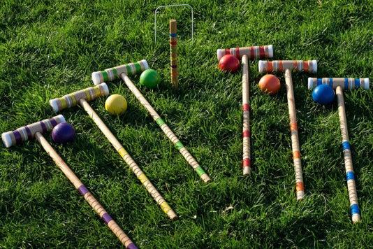 Trademark Global Croquet Set.