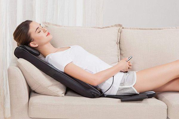 Snailax Shiatsu Massage Cushion with Heat