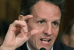 Treasury Secretary Timothy Geithner. Click image to expand.