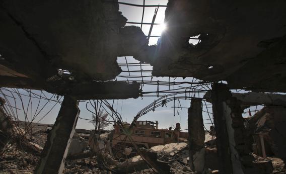 The destruction of war, Afghanistan