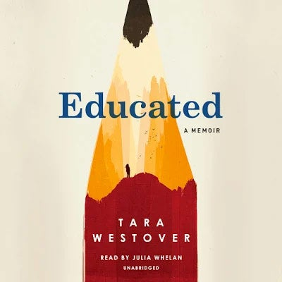 Educated: A Memoir audiobook cover.