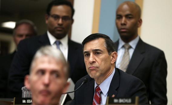 U.S. Rep. Darrell Issa R-Calif.