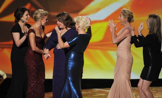 Funny ladies.