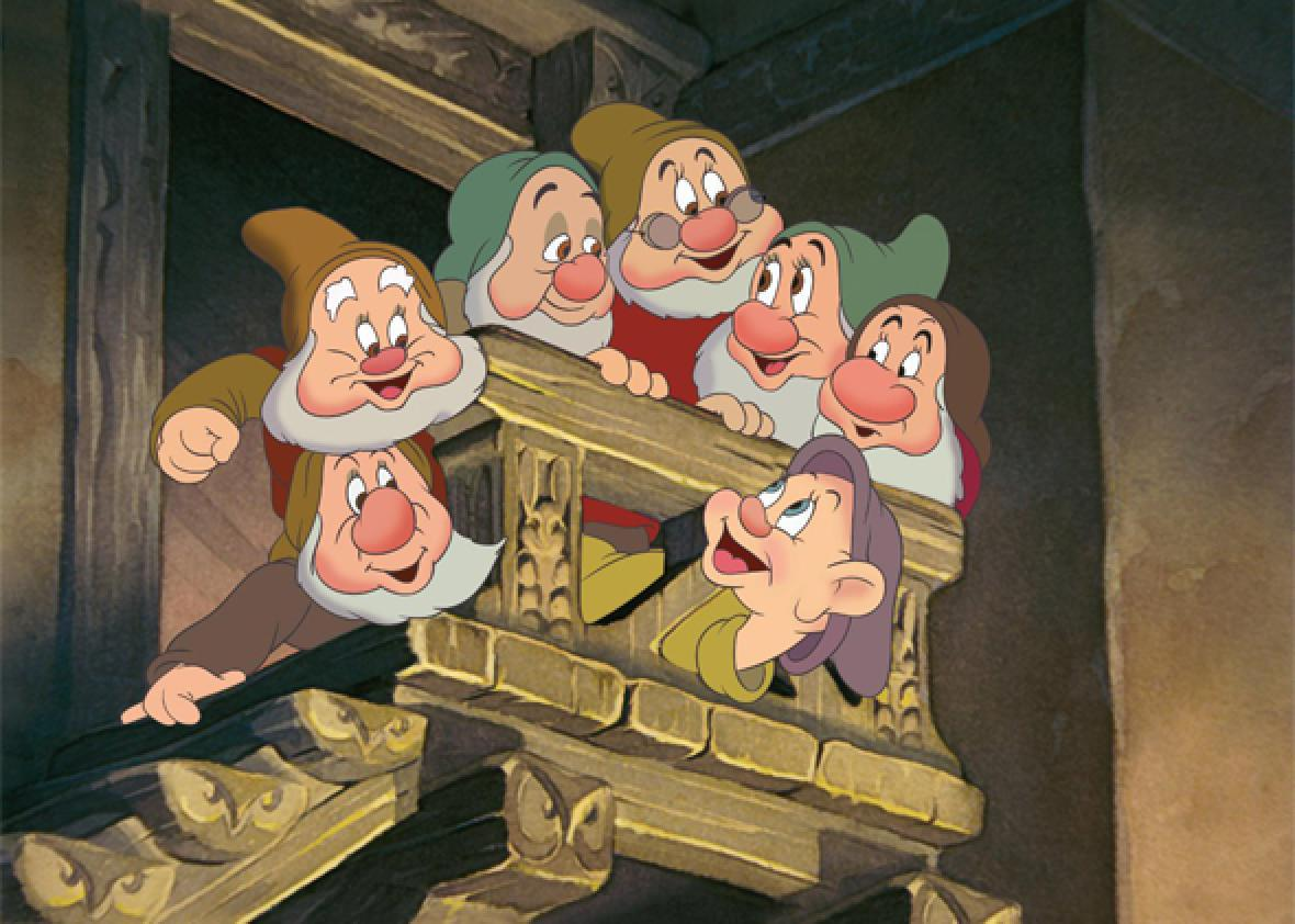 "Scenes from ""Snow White and the Seven Dwarfs"""