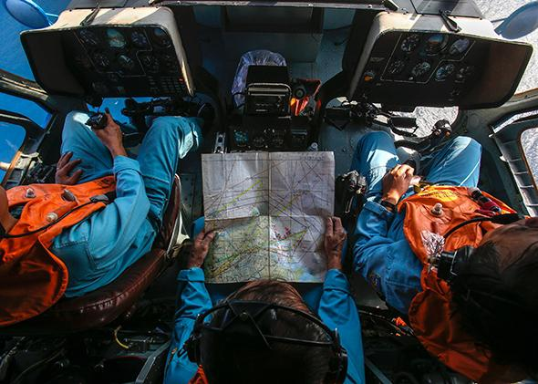 Search for MH370.