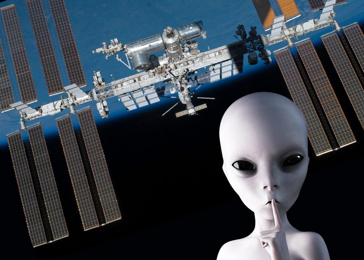 Photo illustration by Slate. Photos by NASA and Thinkstock.