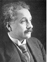 Albert Einstein. Click image to expand