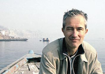 Author Geoff Dyer.