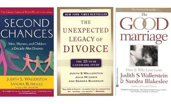 Books on divorce.