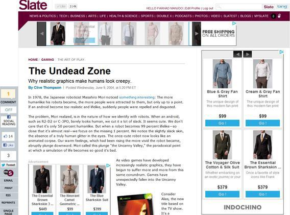 Indochino Targeted Ads