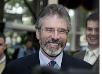 Gerry Adams' political theater         Click image to expand.