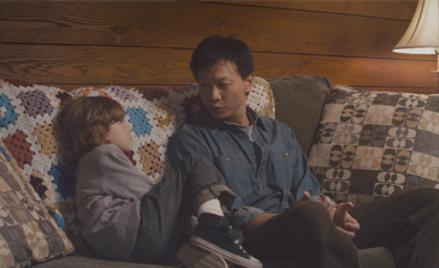 Chip (Sebastian Banes) and Joey (Patrick Wang)