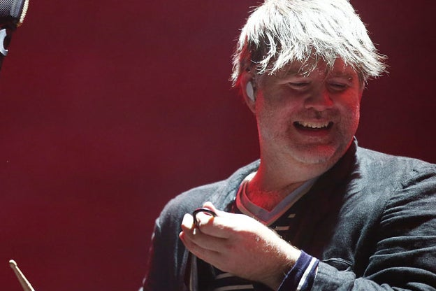 James Murphy of LCD Soundsystem performs during Splendour in the Grass 2017 on July 23 in Byron Bay, Australia.