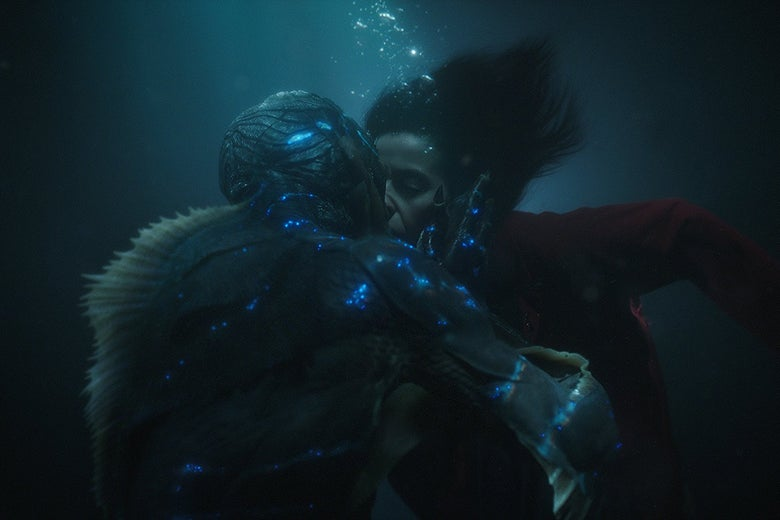 A still from The Shape of Water.