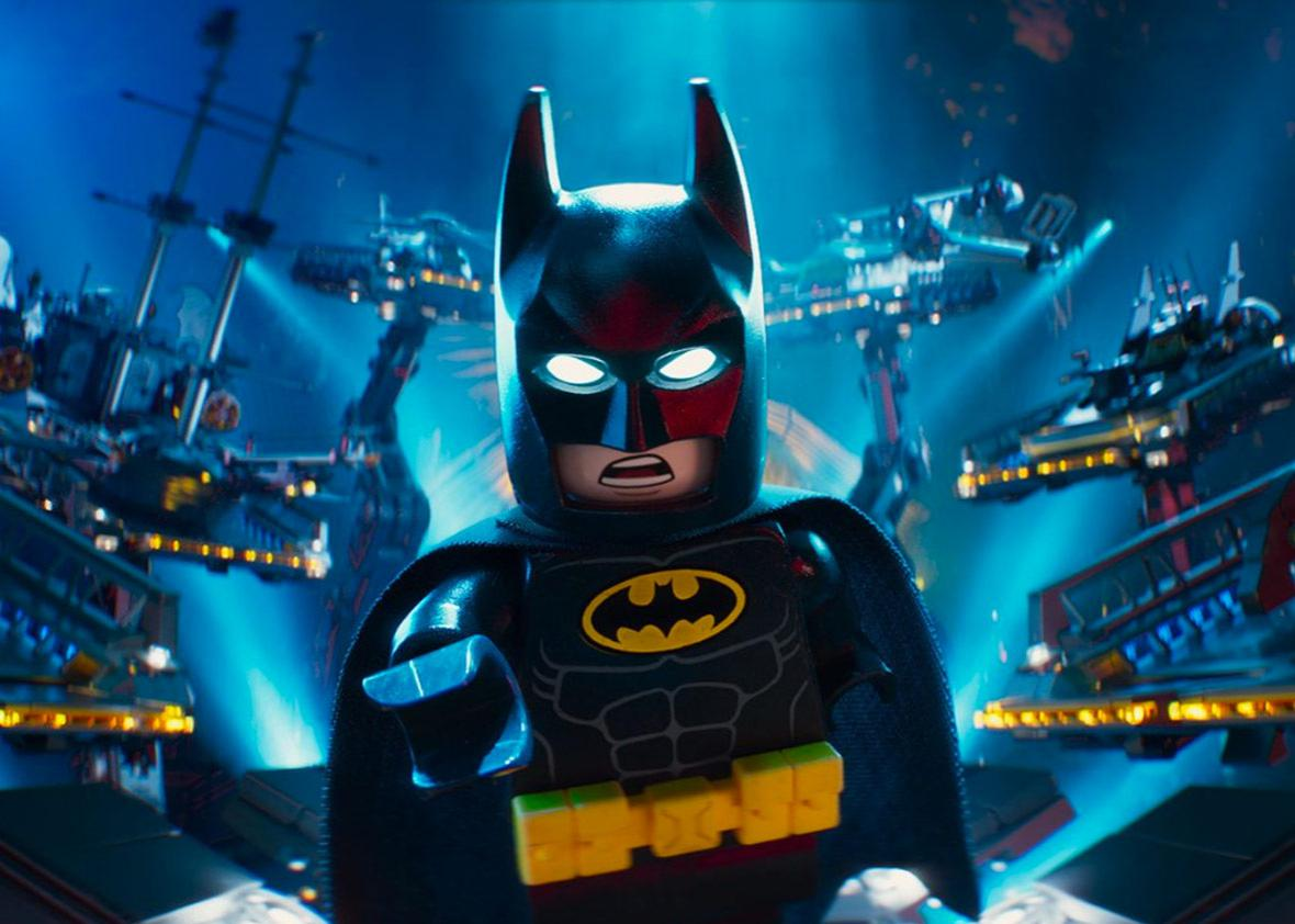 "Will Arnett is the voice of Batman in ""The Lego Batman Movie"""