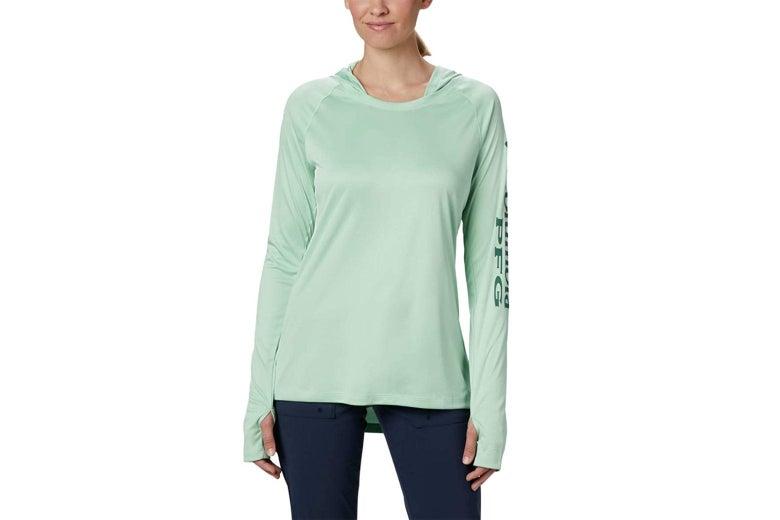 Columbia women's long sleeve shirt.